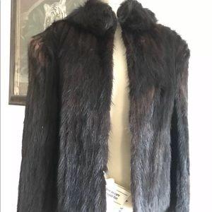 Jackets & Blazers - Vintage Authentic Rate Fox Mink Fur